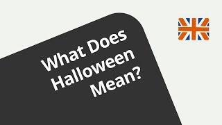 Halloween Jetzt Auch In Deutschland?   Englisch   Hören Und Verstehen