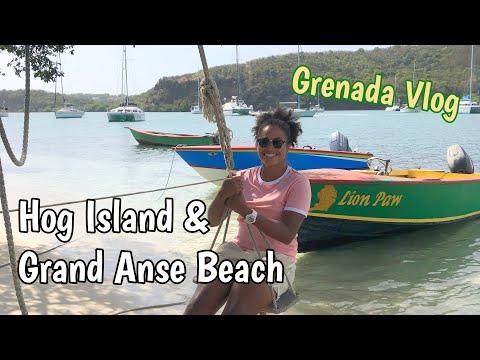 Grenada Day Vlog | Hog Island And Grand Anse Beach