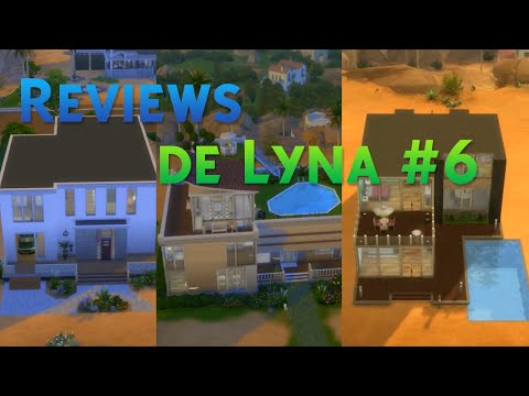 Los sims 4 reviews de lyna 5 funnydog tv for Casa moderna lyna