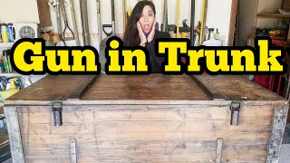Download MILITARY GUN TRUNK I Bought Abandoned Storage Unit Locker Opening Mystery Boxes Storage Wars Auction Mp3 and Videos