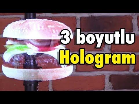 3 Boyutlu Hologramı Test Ettik + Ağ Fırlatıcı & Kesilmez Eldiven