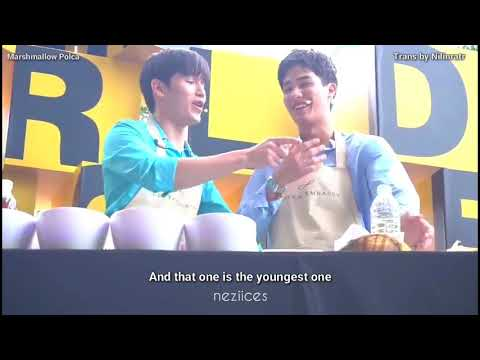 ENGSUB 180813 - TayNew - The World in One Bite at Central Embassy