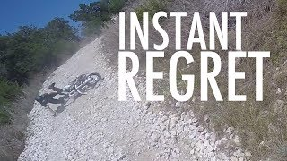 The Dropping Like Flies Ride   INSTANT REGRET - Rocky Hill Gives Supermotos Trouble