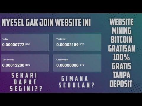 ► Nyesel Gak Join Website Ini!! | Mining Bitcoin 100% Gratis Tanpa Deposit