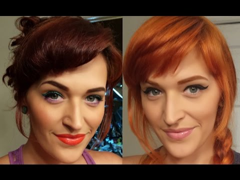 How I dyed my hair orange with BAQ Henna and Prism Lites