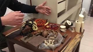 Kehribar Osmanlı sıkma ,katalin, kuka,fildişi