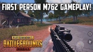 NEW M762 AND QBU FPS GAMEPLAY! - 0.9.0 Beta Gameplay - PUBG Mobile