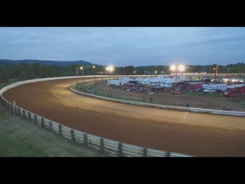 Live Dirt Track Racing at Selinsgrove Speedway - Shot With Phantom 3 Drone