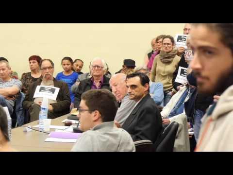 A  Fontaine (Isère) colère après les propos anti-roms d'un élu FN