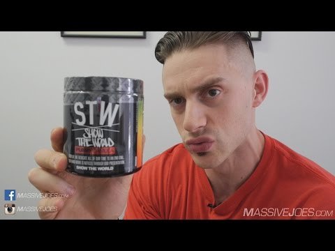 Run Everything Labs STW Show The World Pre-Workout Pump Supplement Review  - MassiveJoes.com RAW