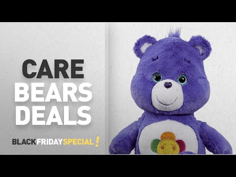 "Top Black Friday Care Bears Deals:: Care Bear ""Harmony Bear"" Medium Plush Toy with DVD"