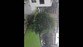 la pluie à  Bruxelles