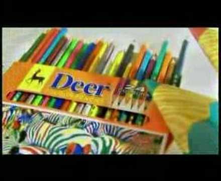Deer Pencils 2004