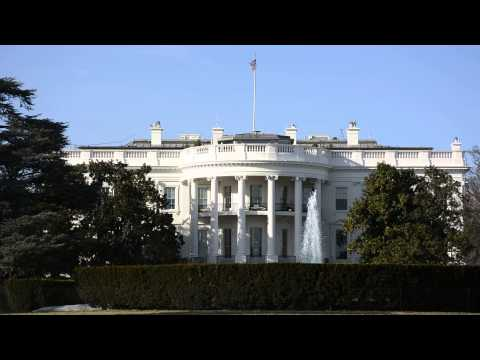 The Whitehouse Backdrop Footage Inside South Lawn