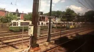 MBTA Green Line Light Rail D Branch Riverside Station to Lechmere Station 7/11-16/16
