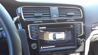 Golf 7: Parkpilot Sensorenanzeige