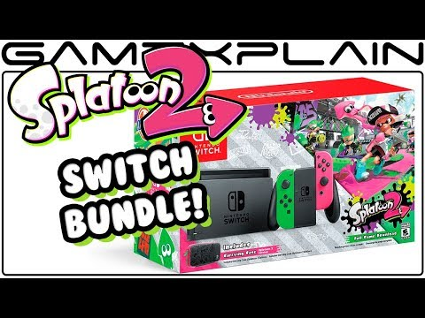 Splatoon 2 Switch Bundle Announced for September 8th; Wal-Mart Exclusive