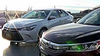 2016 Honda Accord EX vs 2016 Toyota Camry SE - 2 great cars, but let's pick our favorite