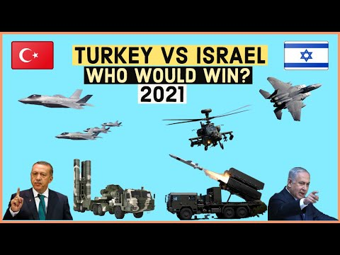 TURKEY VS ISRAEL Military Power Comparison 2021