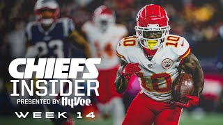 Inside Week 14 vs. Patriots | Hy-Vee Chiefs Insider