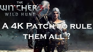 The Witcher 3: 4K Patch for PS4Pro analysed PS4 - PS4Pro