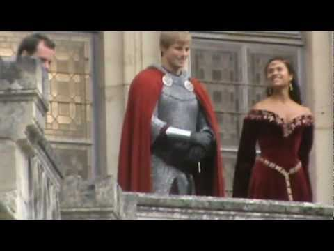 Bradley James & Angel Coulby @Pierrefonds 13.09.12