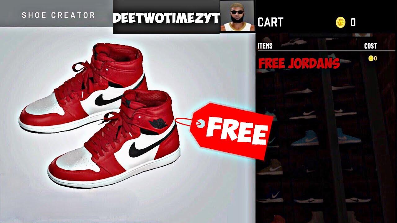NEW* NBA 2K20 FREE CUSTOM SHOES GLITCH