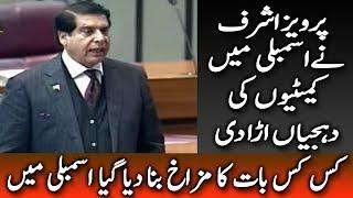 Raja Pervez Ashraf Expose Secrets of Hidden Committes in National Assembly