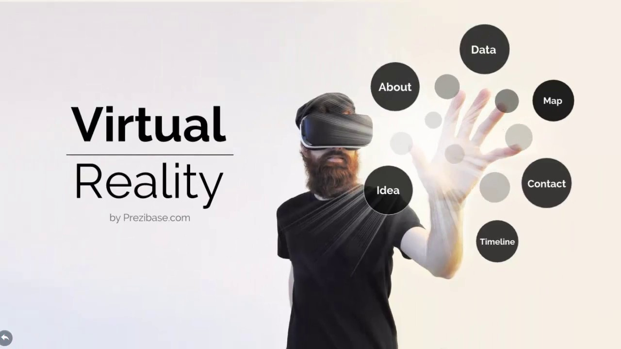 Virtual Reality Presentation Template for Prezi