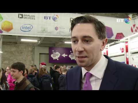 Minster Simon Harris visits BTYSTE 2017