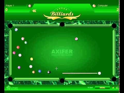 jeu de billard axifer