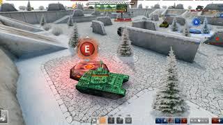 Tanki Online. 1-ое видео на моём канале) Играем цп-ху xD