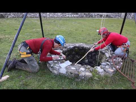 Esplorazione cisterne Castello Piccolomini di Celano