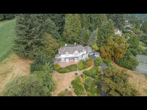 Historic Luxury Estate in Exclusive West Vancouver Neighbourhood