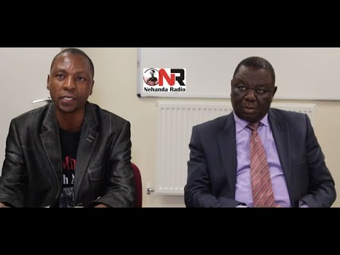 Morgan Tsvangirai UK Press Conference