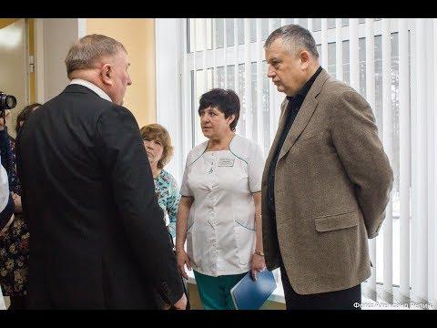 Губернатор Ленинградской области в селе в Паша 14 марта 2018 г.