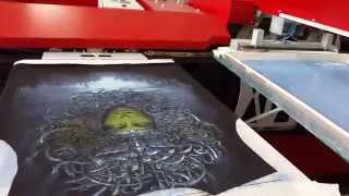 Печать на футболках,тотальная печать,полная запечатка от компании АРТ-ИМПЕРИЯ(Печать на футболках для бренда молодежной одежды