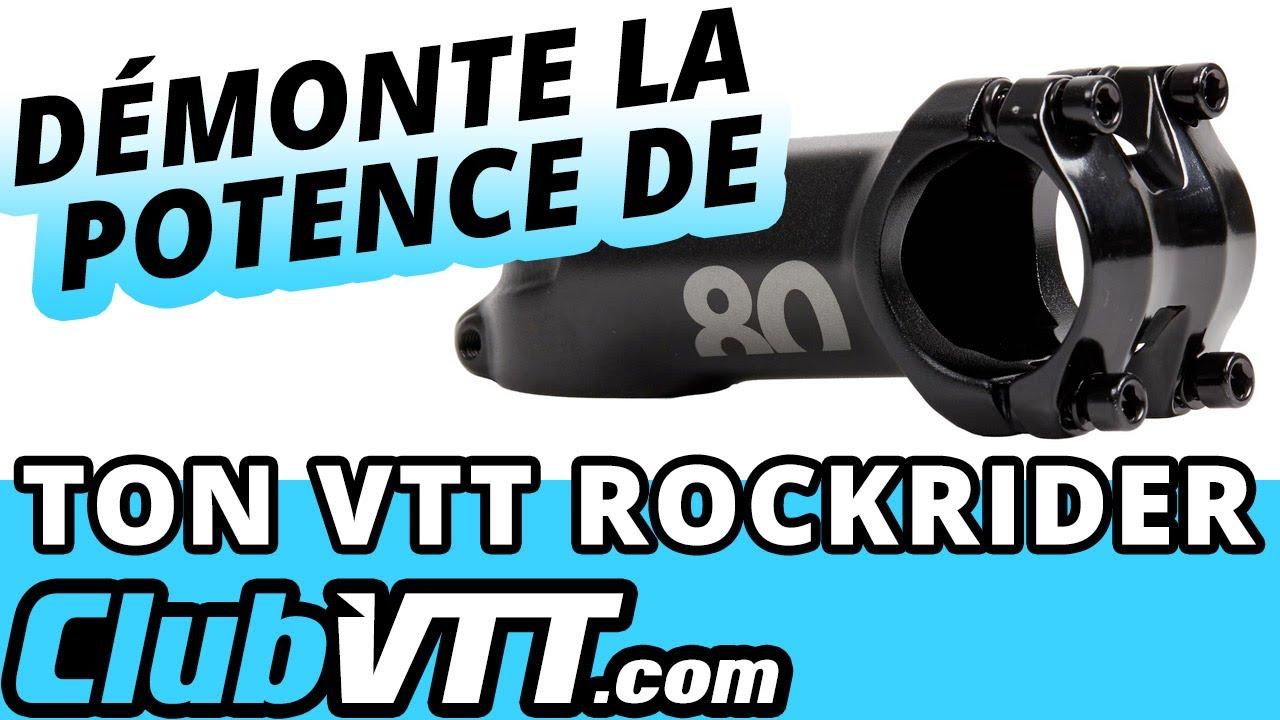 Reglage guidon vtt rockrider 340