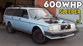 homepage tile video photo for REINFORCING My 30 Year Old VOLVO WAGON to Handle 600WHP!