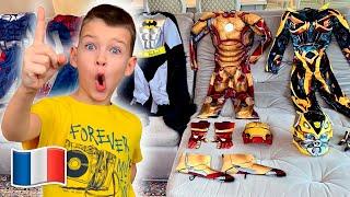 Cinq Enfants - Vania se transforme en super-héros