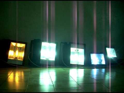 Accensione proiettori con lampade a ioduri metallici e ai vapori