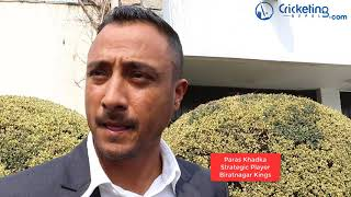Paras Khadka on DPL 2 auction and his team Biratnagar Kings