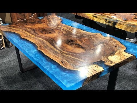 MOST Amazing Epoxy Resin and Wood River Table! Awesome DIY  Projects and Products