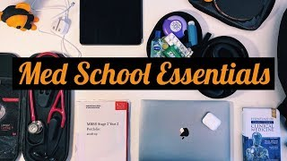 WHAT'S IN MY BAG? Med School Edition | KharmaMedic