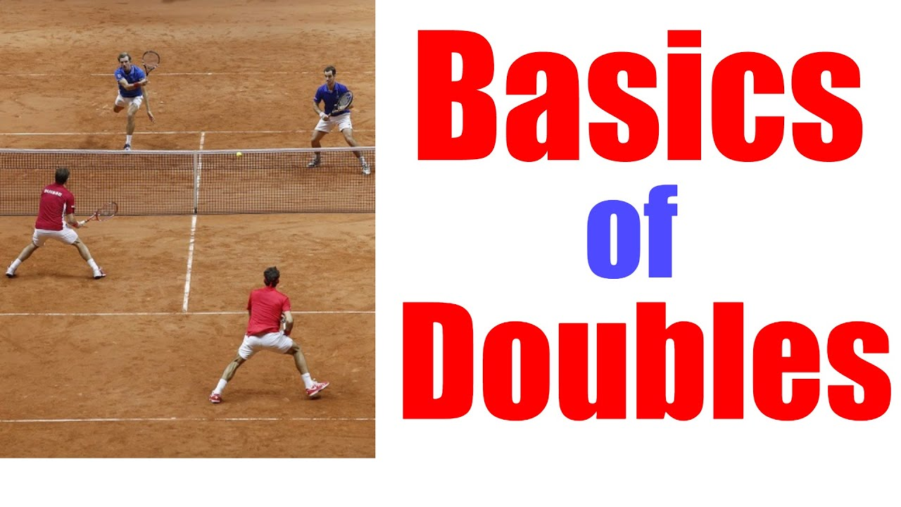 Tennis Doubles Lesson The Basics Of Doubles Youtube