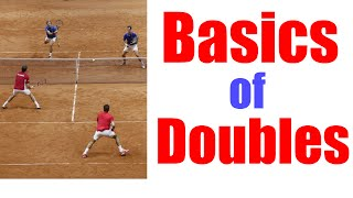 Tennis Doubles Lesson | The Basics of Doubles
