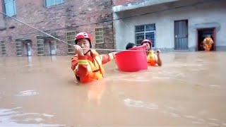 'Thousands evacuated since start of flood season in China'