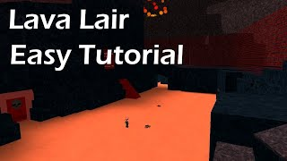How to complete the Lava Lair Quest for Helicopter Roblox