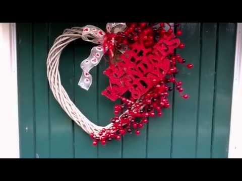 Valentine Decorations Outdoors   YouTube