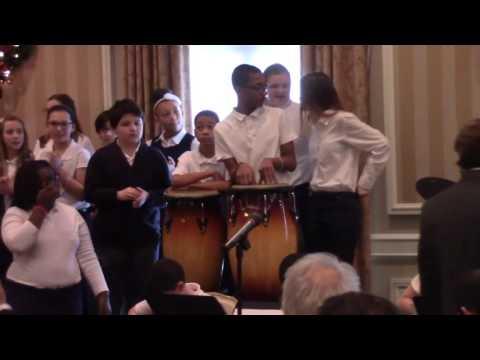 York Academy Regional Charter School Chorus & Jazz Band,Rotary Club of York,PA, Meeting 12/21/2016